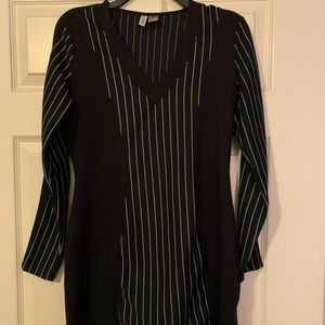 Black and white striped dress from H&M